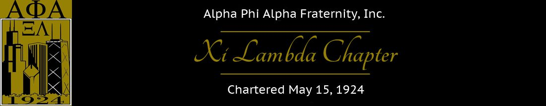 Chicago Alphas – Xi Lambda Chapter